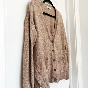 Madewell long slouchy cardigan sweater